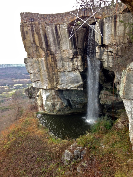 Rock City's formidable peak.
