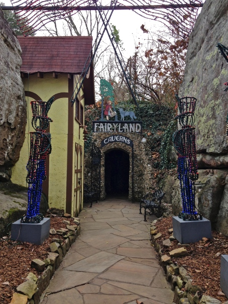 Rock City's Fairytale Caverns.