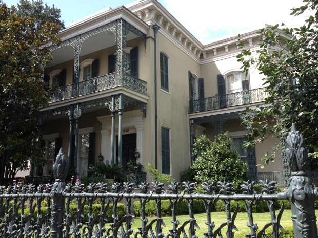 The Garden District is considered the most expansive collection of historical southern mansions in the United States. (Photography Jenna Intersimone)