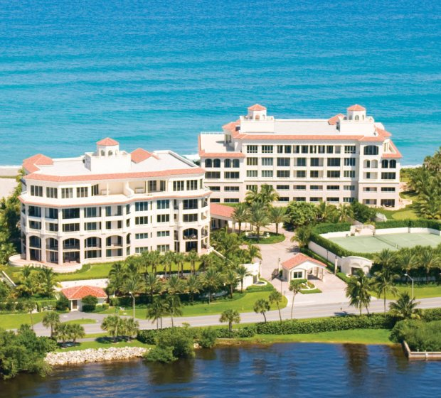 The Bellaria Palm Beach hosts only 18 units. (Photography Palm Beach Daily News)
