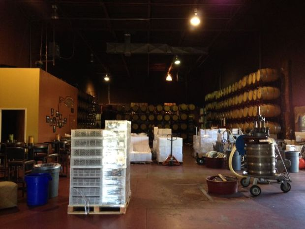 The Grape Escape is currently gearing up for winemaking season. (Courtesy of the Grape Escape)