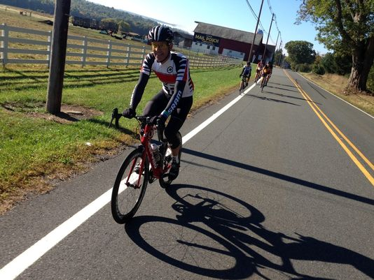 Hunterdon riders can set off for the 81-mile Extreme Tour with 4,000 feet of elevation at 9 a.m. or the 20-mile Weekend Warrior Tour with 1,200 feet of elevation at 10 a.m. (Photo: Courtesy of Tour de Farm New Jersey)