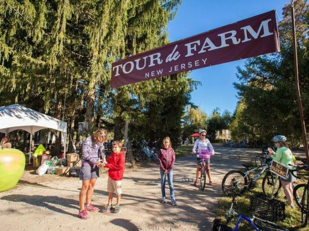 Tour de Farm New Jersey offers a quirky yet logical pairing — bicycling one of the most beautiful regions of the state while sampling some of the healthiest and tastiest food, bringing New Jerseyans to understanding the purpose of buying local products. (Photo: Courtesy of Tour de Farm NJ)