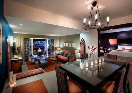 The presidential suite at the Hard Rock Hotel and Casino. (Photo: Courtesy of Wyndham/RCI)