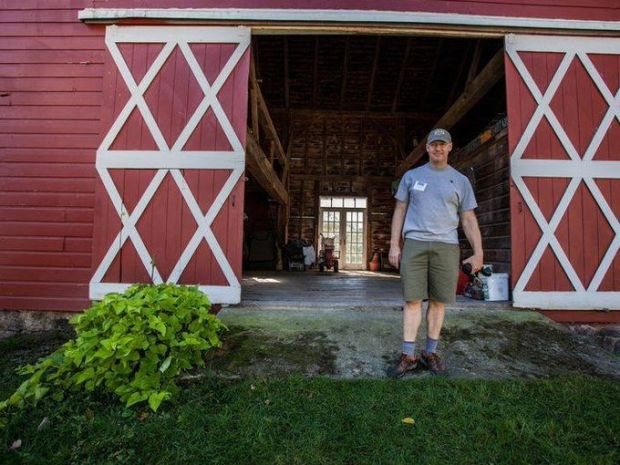 Very few people have spoken to a farmer or visited a farm, so with this tour, they get to finally see the produce, animals and what goes on behind grocery walls. (Photo: Courtesy of Tour de Farm NJ)