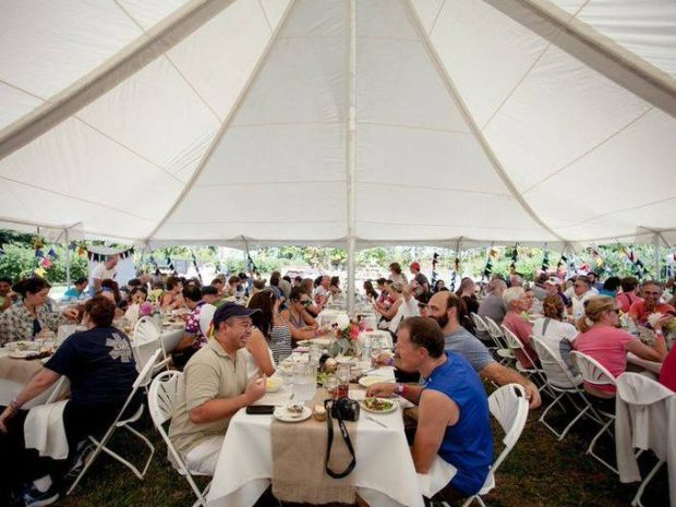 The year's Hunterdon County tour will begin with a farm-fresh locally sourced breakfast provided by tour organizers at South Hunterdon Regional High School in West Amwell on Sunday, Aug. 2, from 8 a.m. to 10 a.m. (Photo: Courtesy of Tour de Farm NJ)