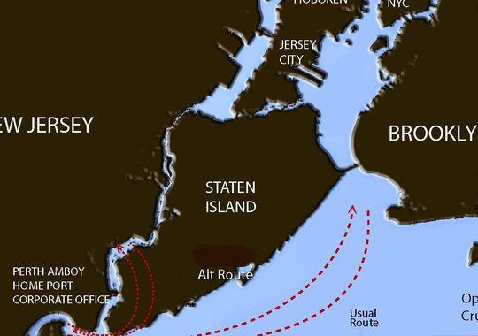 Cornucopia Cruise Line operates four vessels that travel through Raritan Bay and down the Staten Island coastline. (Photo: ~Courtesy of Cornucopia Cruise Line)