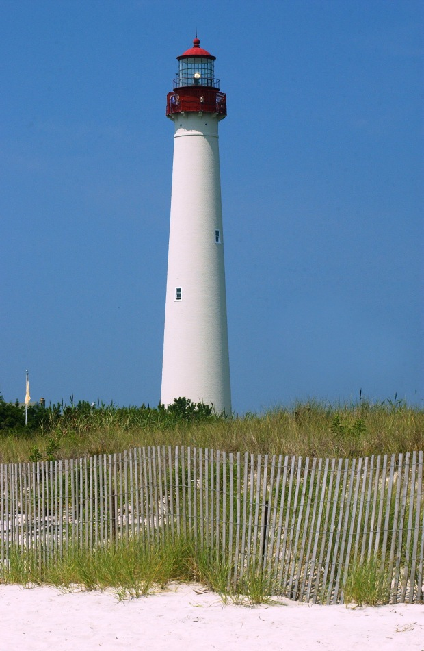 Cape May Lighthouse had a $2 million 15-year restoration.  (Courtesy of Mid-Atlantic Center for the Arts in Cape May)