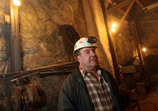 Inside the 1,300-foot, well-lit underground mine, the air is a cool 56 degrees, making it a fitting pseudo-outdoor activity for a hot summer day. (Photo: ~File photo)