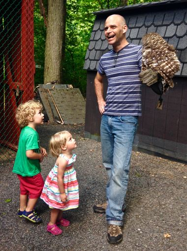 Regardless of age, gender or hometown, it seems like everyone can find a reason to be enamored with birds of prey at the Raptor Trust. Jenna Intersimone/Staff Photo