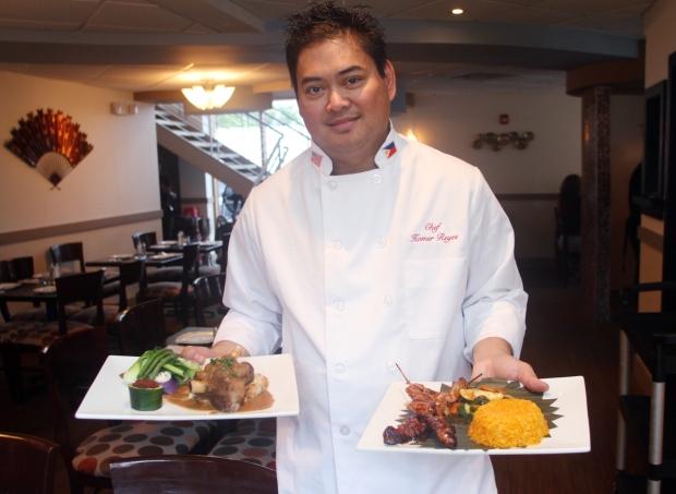 Chef Homer Reyes at La Parilla de Manila, Wednesday, August 19, 2015, in Colonia, NJ.