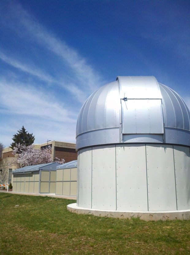 Current stars, galaxies and planets are visible from the 3M Observatory. ~Courtesy of Raritan Valley Community College Planetarium