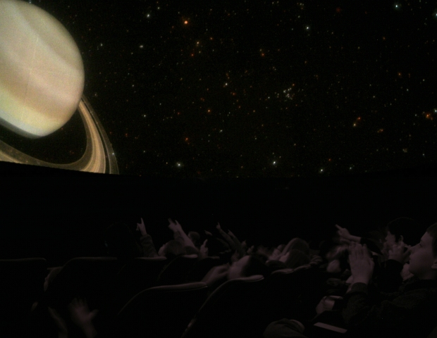 The Planetarium upgraded to a digital theater in 2008. (Photo: ~Courtesy of Raritan Valley Community College Planetarium)