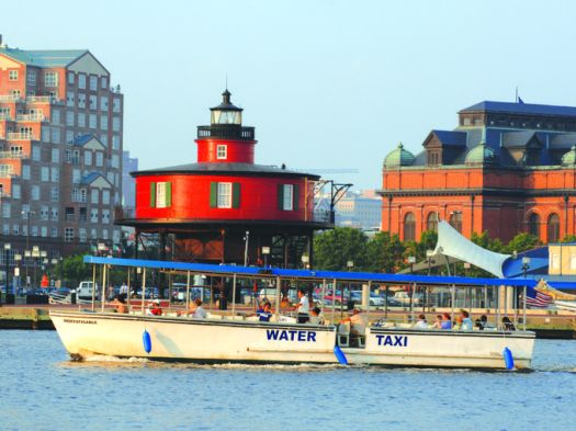 Even if you're more than happy to wander, grab an $8 single ride ticket or a $14 all-day pass to travel to 13 stops on the Water Taxi's trail to get a different view of the surrounding area. ~File photo