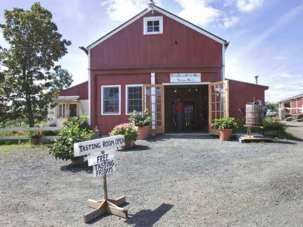 Terhune Orchards, located about four miles from downtown Princeton, produces 12 varieties of wine on nine acres. ~File photo