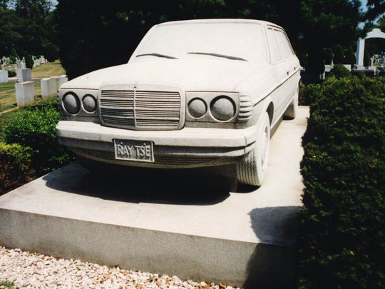 The Mercedes Benz Tombstone belongs to Ray Tse, Jr., who couldn't wait to get his driver's license and own a Mercedes Benz. (Photo: ~File photo)