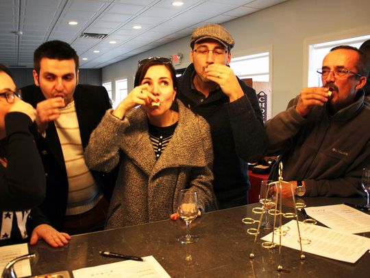 Wine and Chocolate Wine Trail Weekend at Old York Cellars last year. (Photo: ~Courtesy of Old York Cellars)