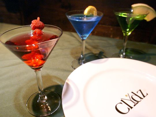 Clydz has an extensive drink menu and exotic food menu. (Photo: ~File photo)