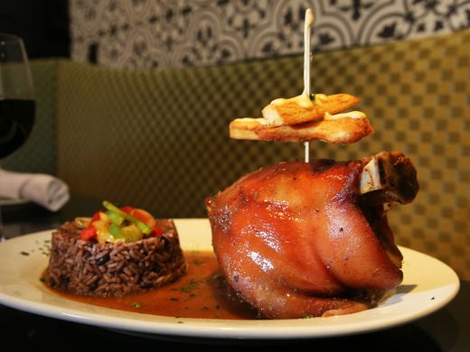 Roast Pork done La Terrazza Cubana style. Mark R. Sullivan/Staff Photo
