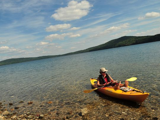 Round Valley Recreation Area is home to the deepest body of water in New Jersey at 180 feet. (Photo: Karen Mancinelli/Staff Photo)