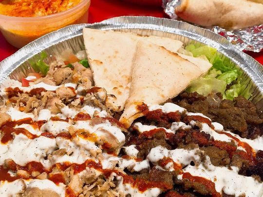 The Halal Guys is different than other food carts because they only use premium-quality meats. (Photo: ~Courtesy of the Halal Guys)