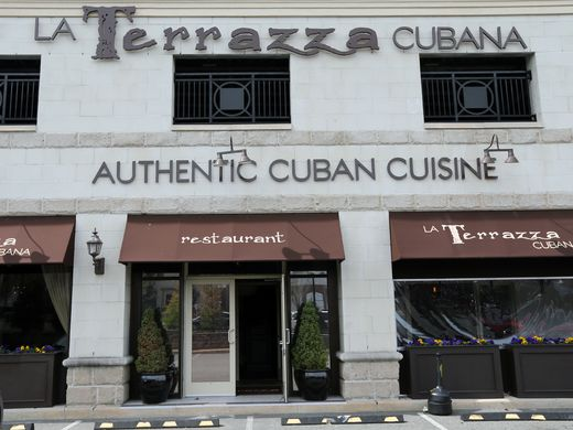La Terrazza Cubana, a Cuban restaurant located at 273 High St, Perth Amboy.  Mark R. Sullivan/Staff Photo
