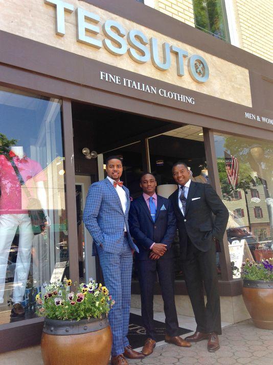 Ashley, Jordan and Ernst Michel, owners of Tessuto.  Jenna Intersimone/Staff Photo