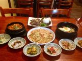 A traditional meal of Korean food. Jenna Intersimone/Staff Photo