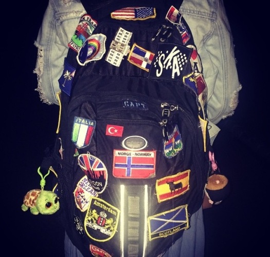 I like knowing that everything I need can fit in this backpack.