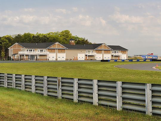 NJMP has space to build about 200 more garages. (Photo: ~Courtesy of New Jersey Motorsports Park)