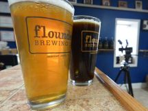 Beers from Flounder Brewing. ~Courtesy of Flounder Brewing