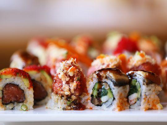 Sushi. (Photo: Karen Mancinelli/Correspondent)