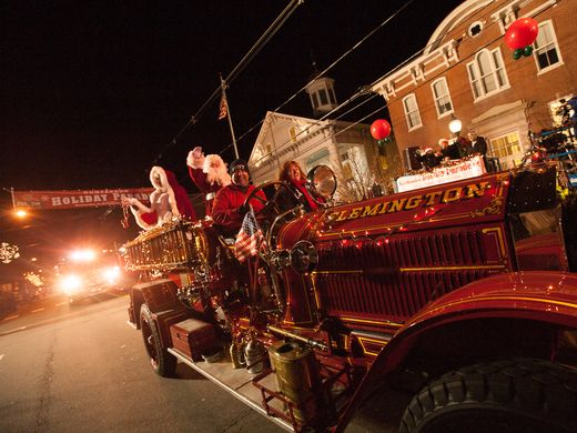 The annual Hunterdon Holiday Parade was held on Sunday, Dec. 4.  ~Courtesy of Brokaw Photography