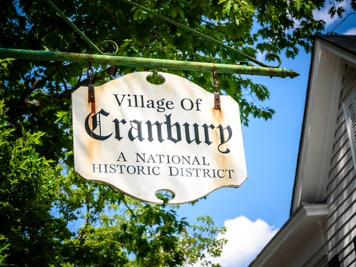 Cranbury is a national historic district.  ~Courtesy of David Nissen Photography