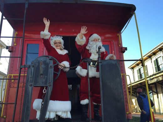 The Black River and Western Railroad hosted holiday train rides throughout December.  ~Courtesy of The Black River and Western Railroad