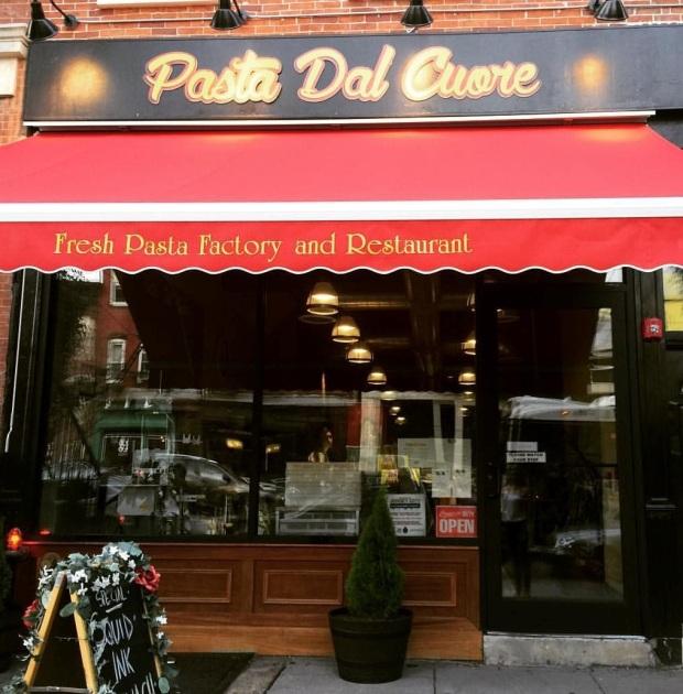 Pasta Dal Cuore in Jersey City.  ~Courtesy of Pasta Dal Cuore