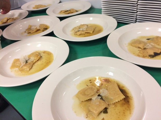 Pasta made at Pasta Dal Cuore for their Autumn in Northern Italy dinner.  ~Courtesy of Pasta Dal Cuore